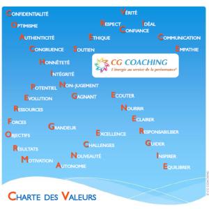 CGC Charte des Valeurs