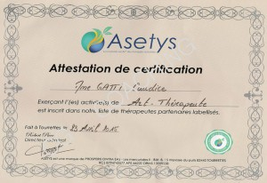 attestation de certification asetysCGC