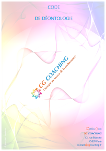 CGC Code de déontologie